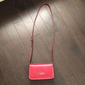 Kate Spade Red Crossbody Bag